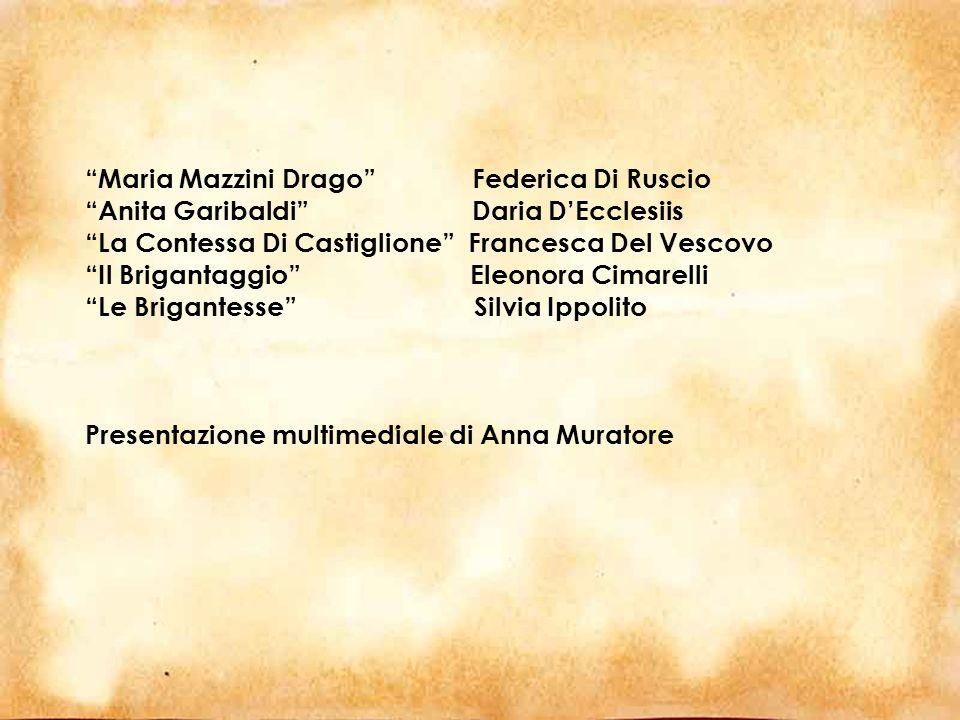 Maria Mazzini Drago Federica Di Ruscio