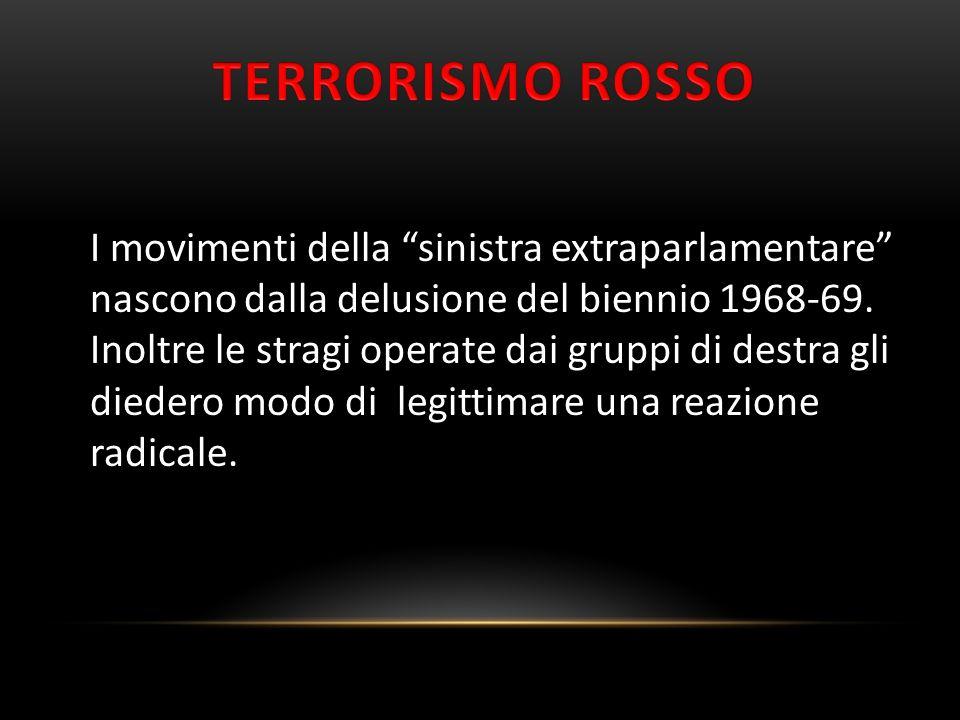 TERRORISMO ROSSO