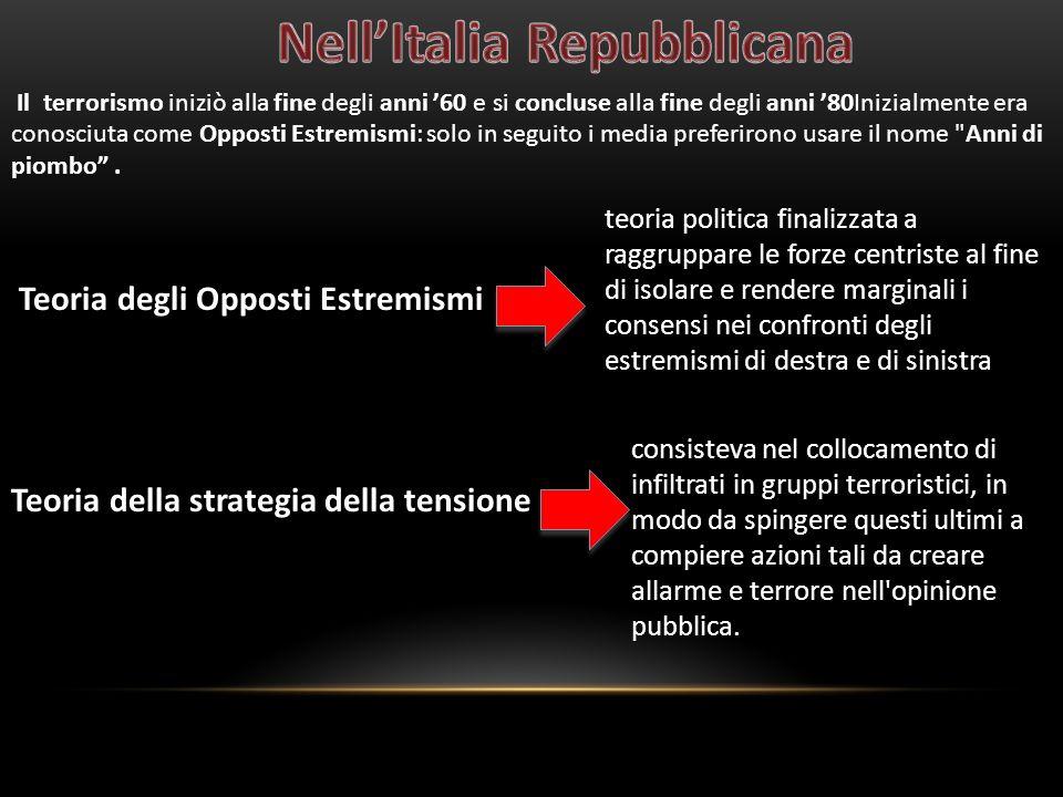 Nell'Italia Repubblicana