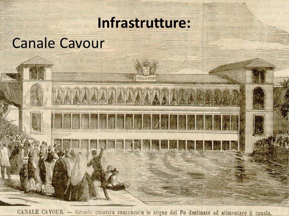 Infrastrutture: Canale Cavour