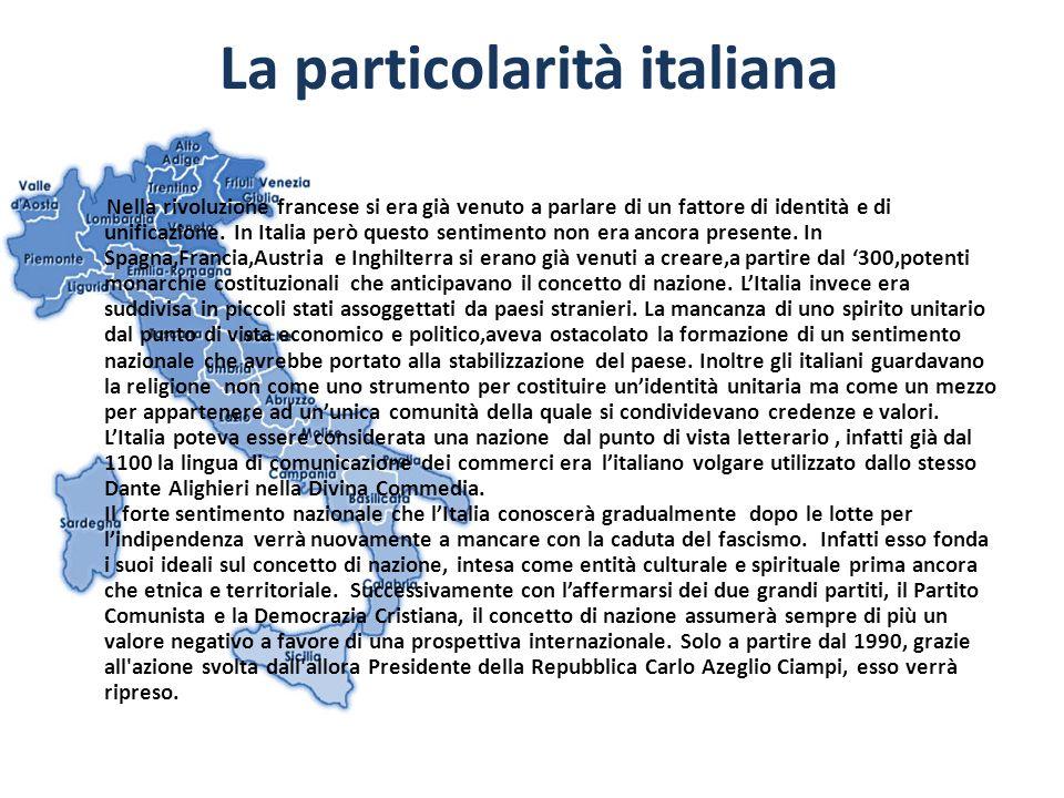 La particolarità italiana