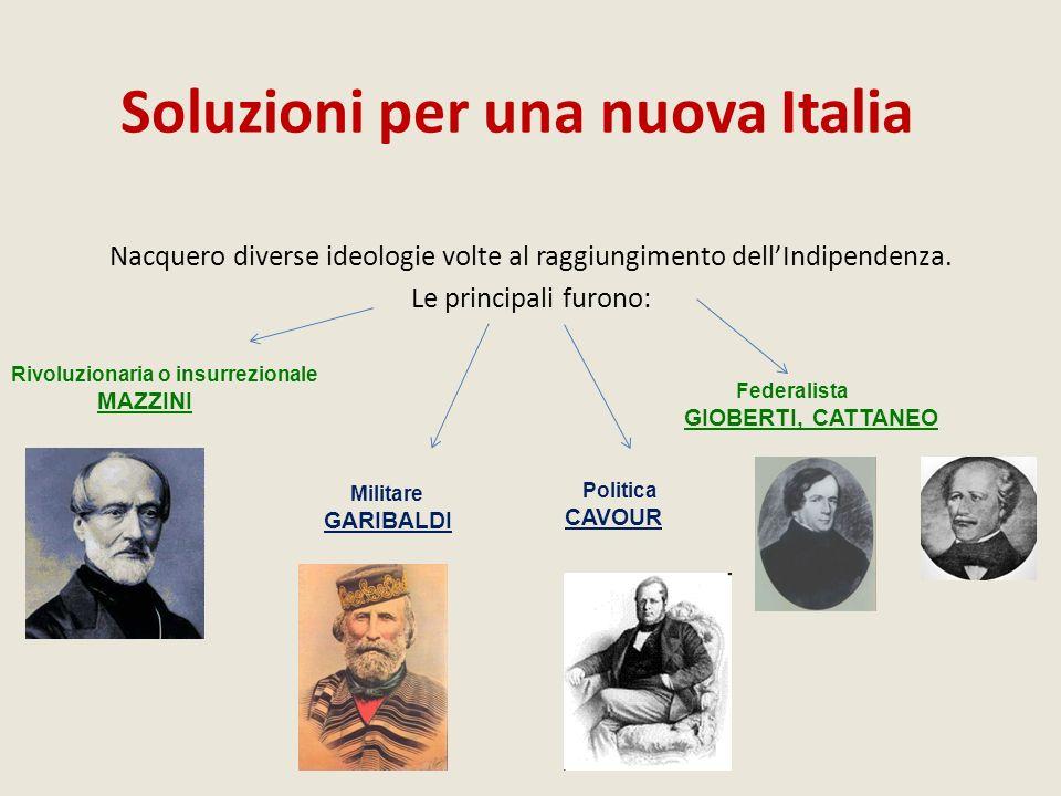 Soluzioni per una nuova Italia