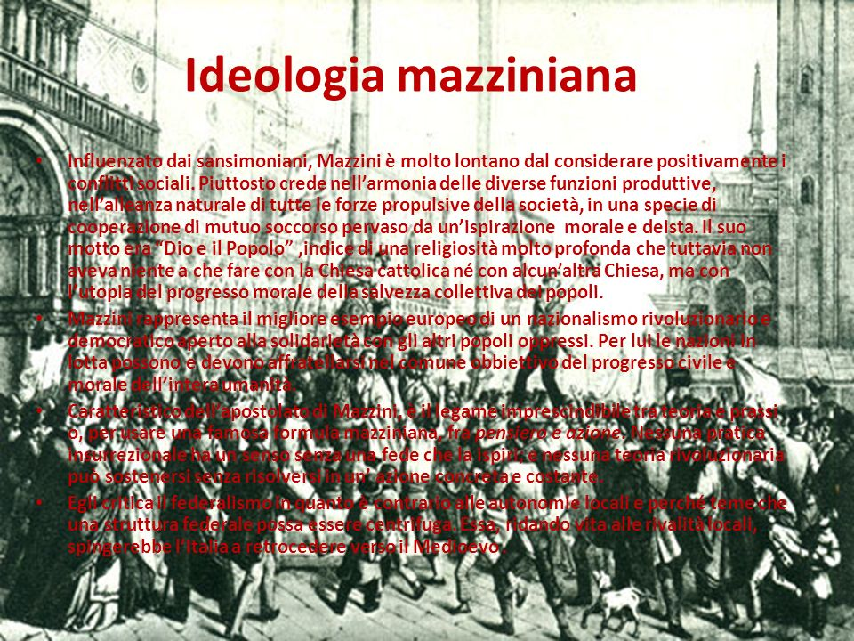 Ideologia mazziniana