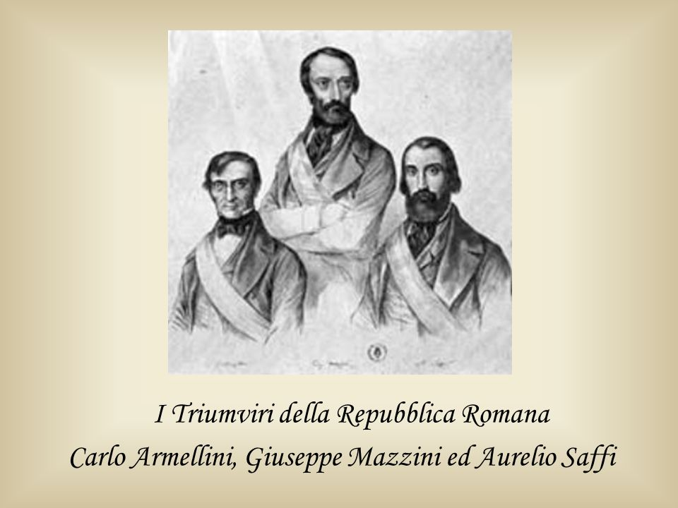 I Triumviri della Repubblica Romana