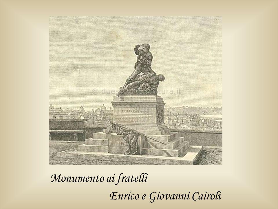 Monumento ai fratelli Enrico e Giovanni Cairoli