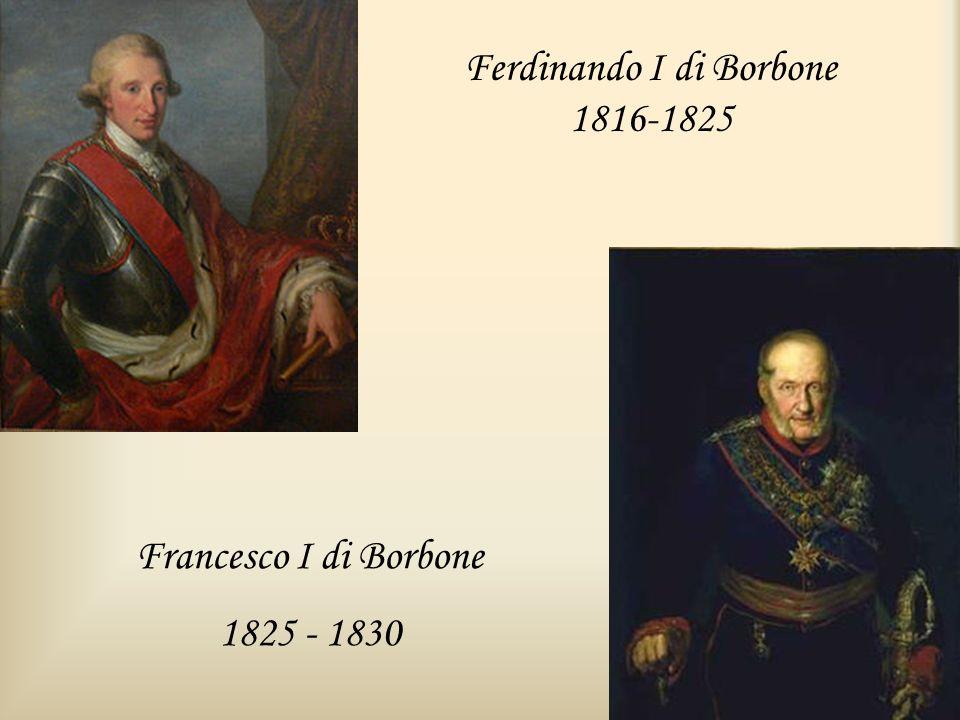 Ferdinando I di Borbone 1816-1825