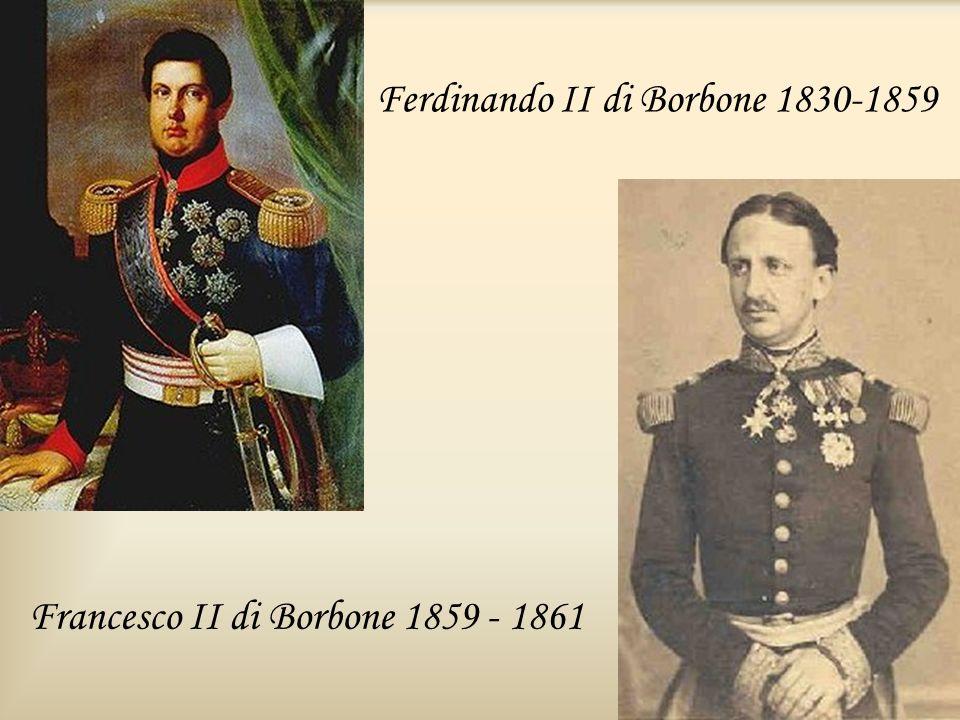 Ferdinando II di Borbone 1830-1859