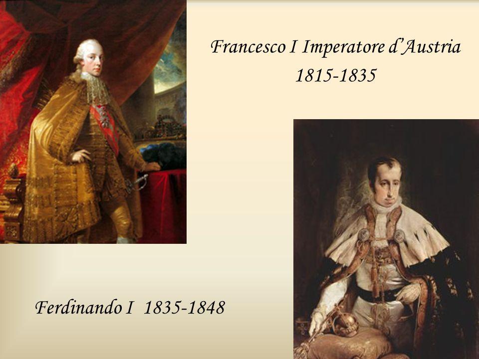 Francesco I Imperatore d'Austria 1815-1835