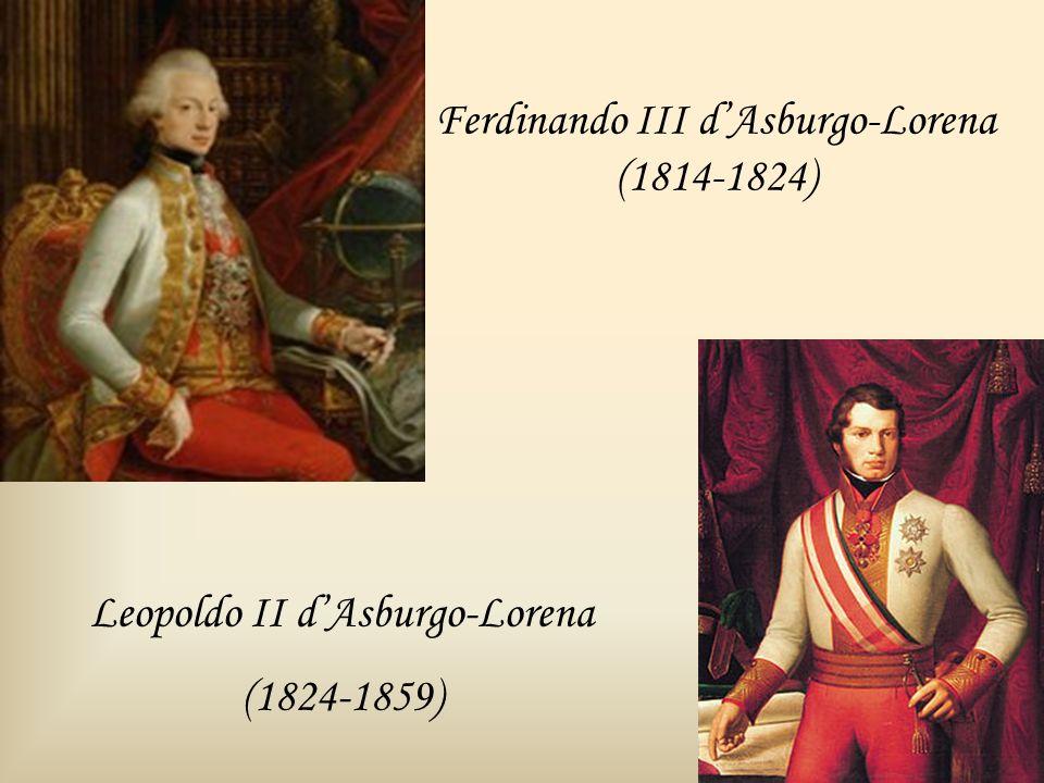 Ferdinando III d'Asburgo-Lorena (1814-1824)