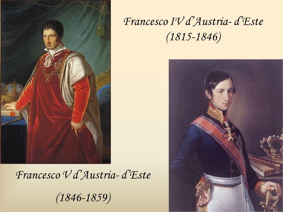 Francesco IV d'Austria- d'Este (1815-1846)