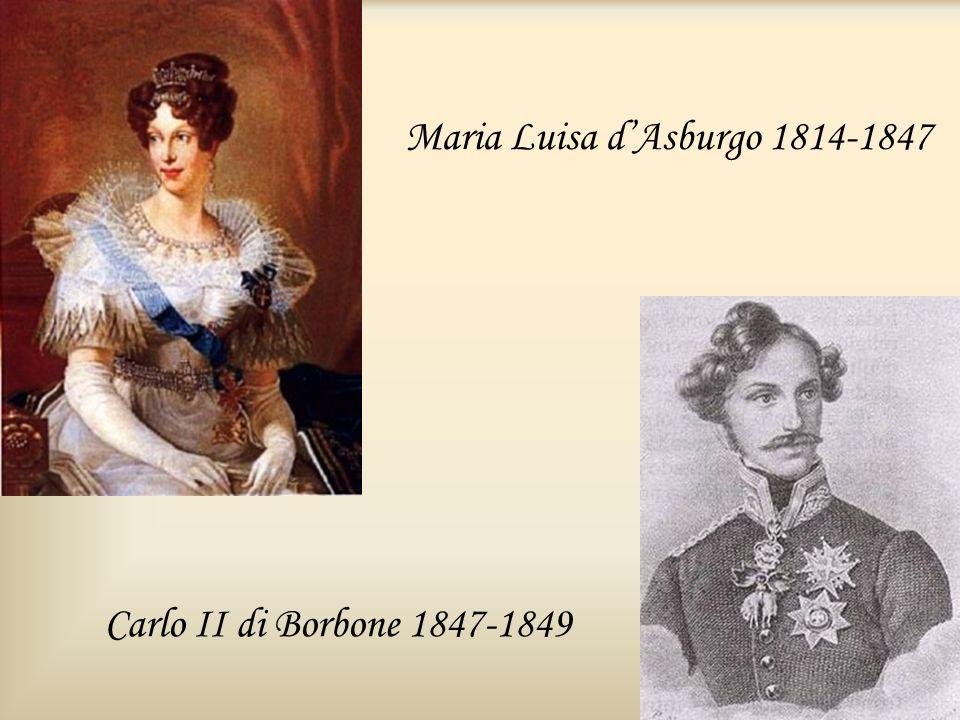 Maria Luisa d'Asburgo 1814-1847
