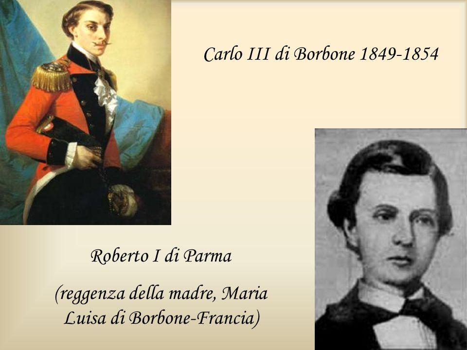 (reggenza della madre, Maria Luisa di Borbone-Francia)