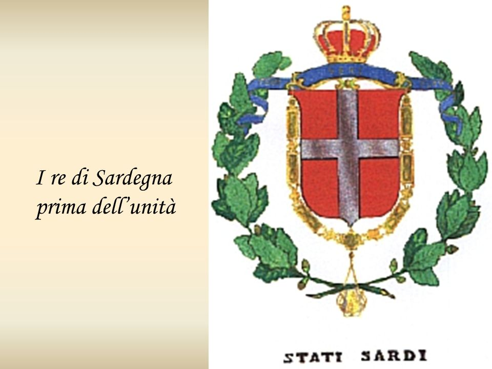 I re di Sardegna prima dell'unità