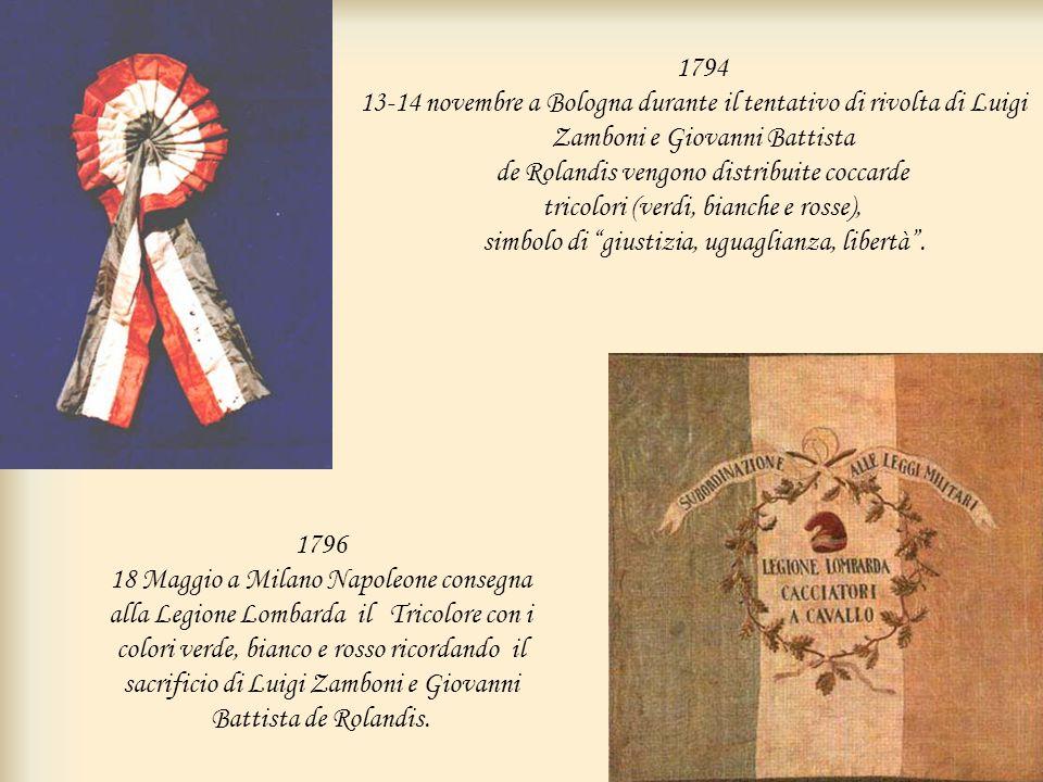 1794 13-14 novembre a Bologna durante il tentativo di rivolta di Luigi