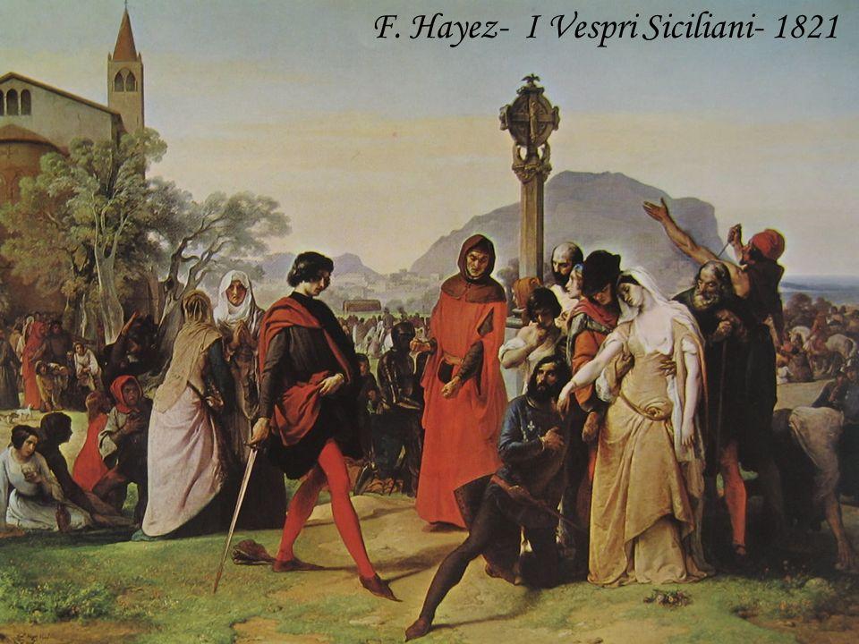 F. Hayez- I Vespri Siciliani- 1821