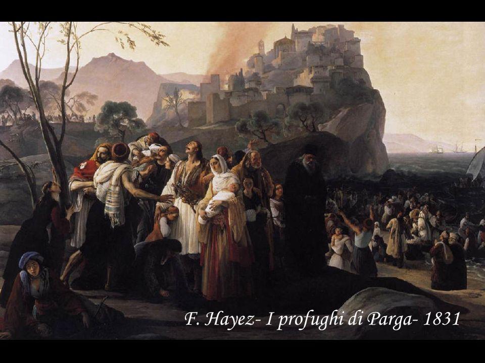 F. Hayez- I profughi di Parga- 1831
