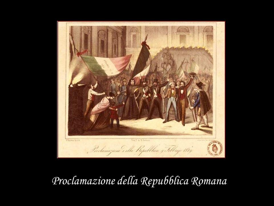 Proclamazione della Repubblica Romana
