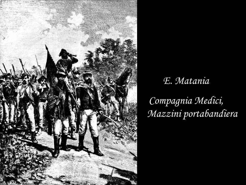 Compagnia Medici, Mazzini portabandiera