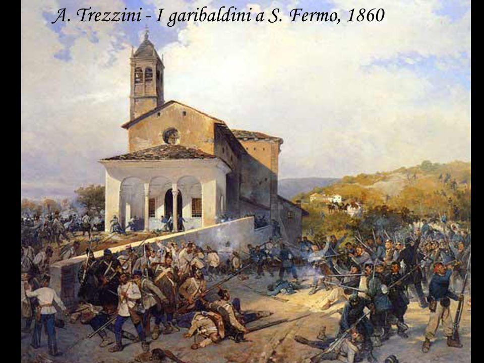 A. Trezzini - I garibaldini a S. Fermo, 1860