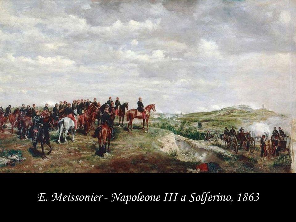 E. Meissonier - Napoleone III a Solferino, 1863