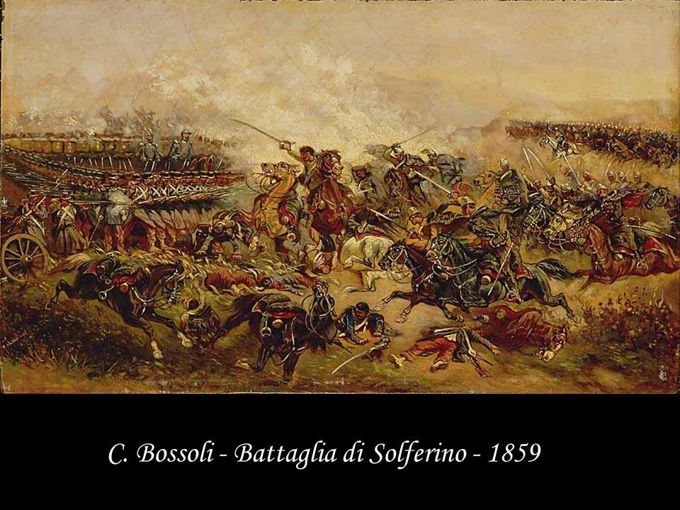 C. Bossoli - Battaglia di Solferino - 1859
