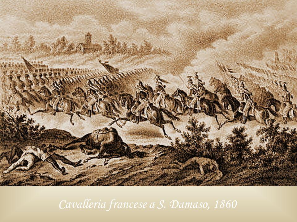 Cavalleria francese a S. Damaso, 1860
