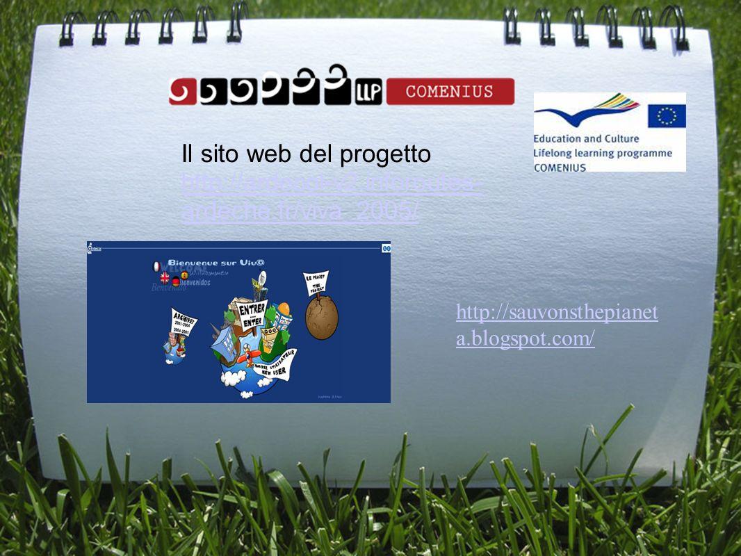 Il sito web del progetto