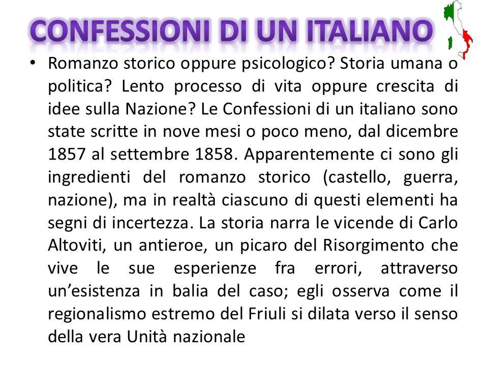 Confessioni di un italiano