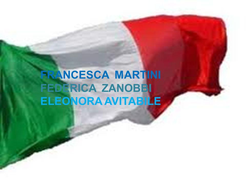 FRANCESCA MARTINI FEDERICA ZANOBBI ELEONORA AVITABILE