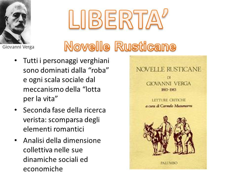 LIBERTA' Novelle Rusticane