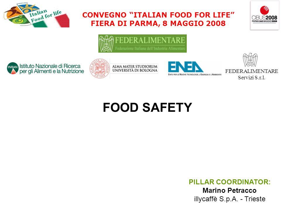 CONVEGNO ITALIAN FOOD FOR LIFE