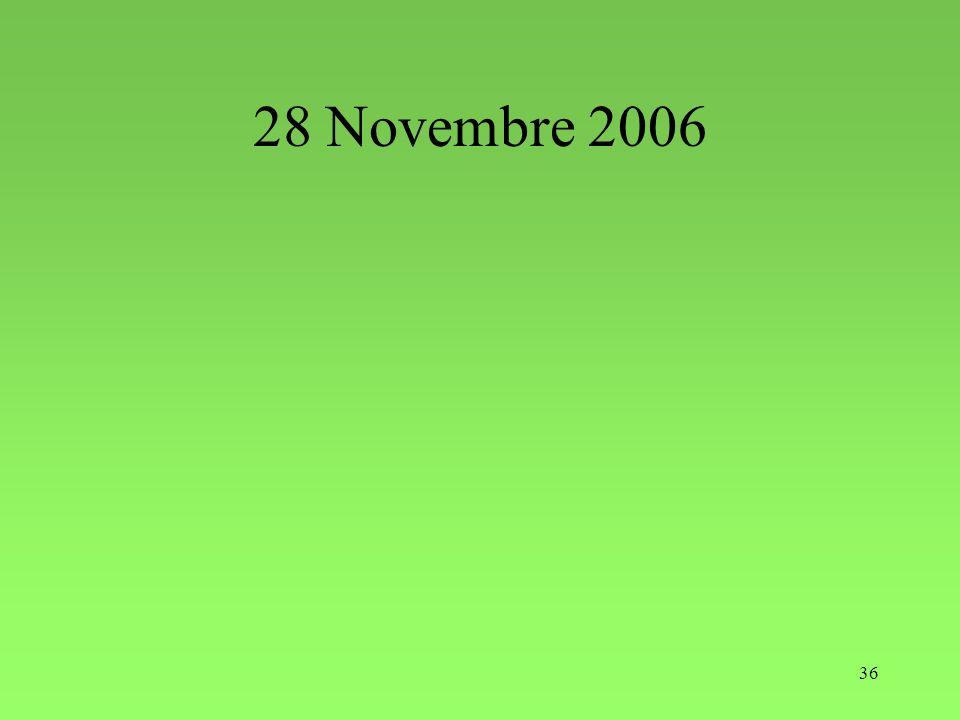 28 Novembre 2006