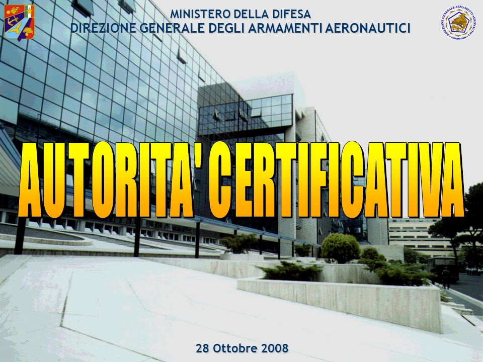 AUTORITA CERTIFICATIVA