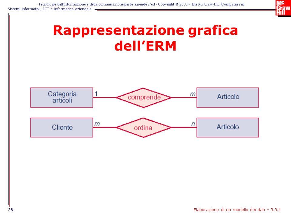 Rappresentazione grafica dell'ERM