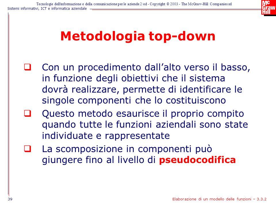 Metodologia top-down