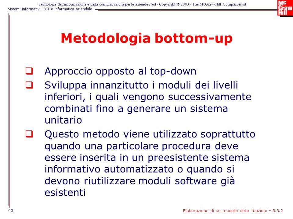 Metodologia bottom-up