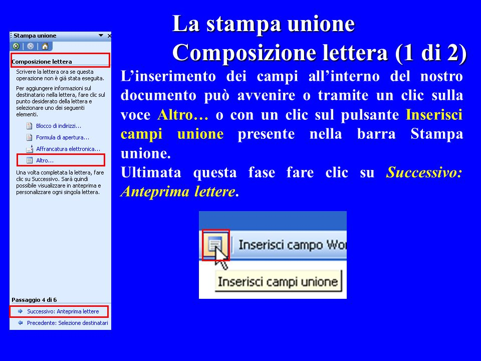 Composizione lettera (1 di 2)