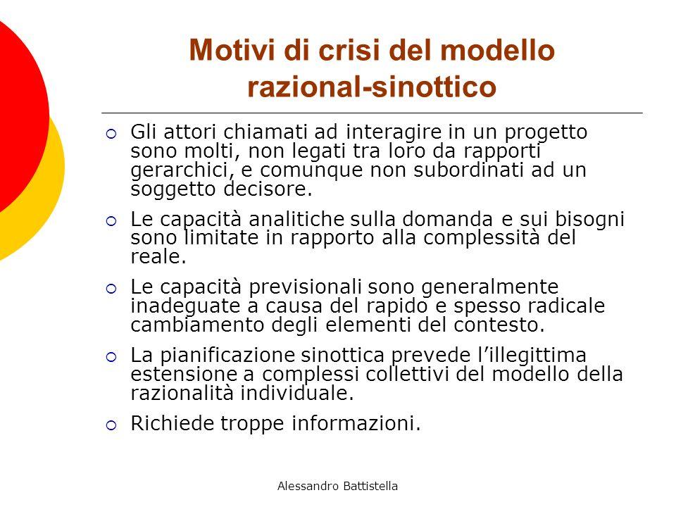 Motivi di crisi del modello razional-sinottico