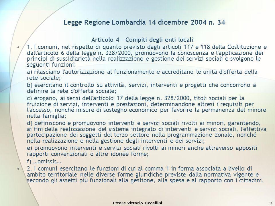 Legge Regione Lombardia 14 dicembre 2004 n. 34