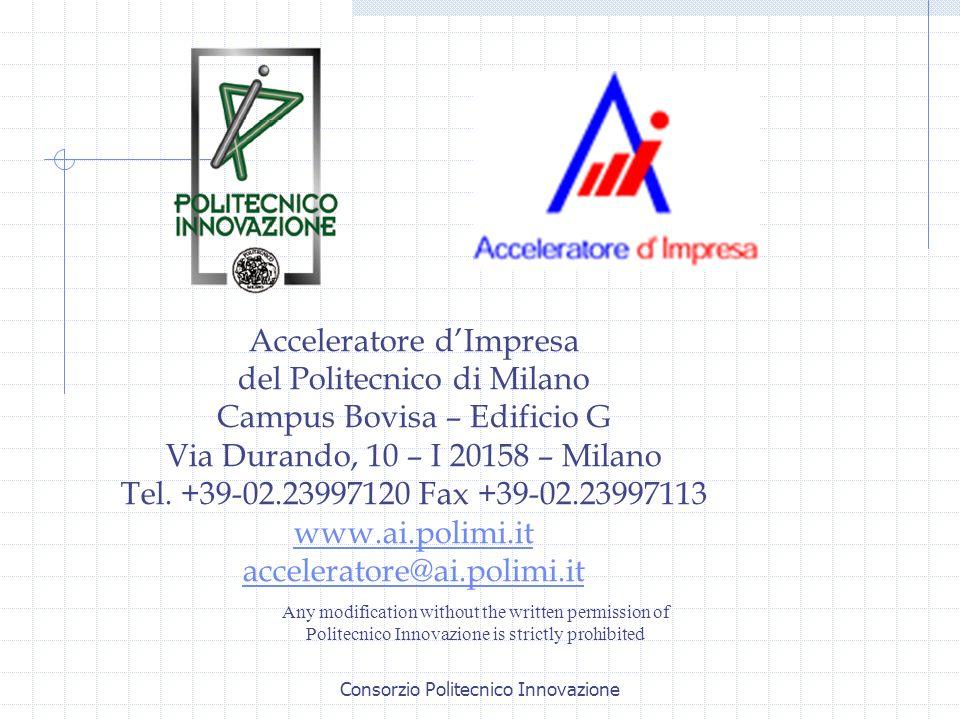 Acceleratore d'Impresa del Politecnico di Milano