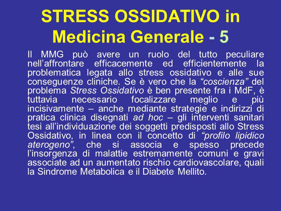 STRESS OSSIDATIVO in Medicina Generale - 5