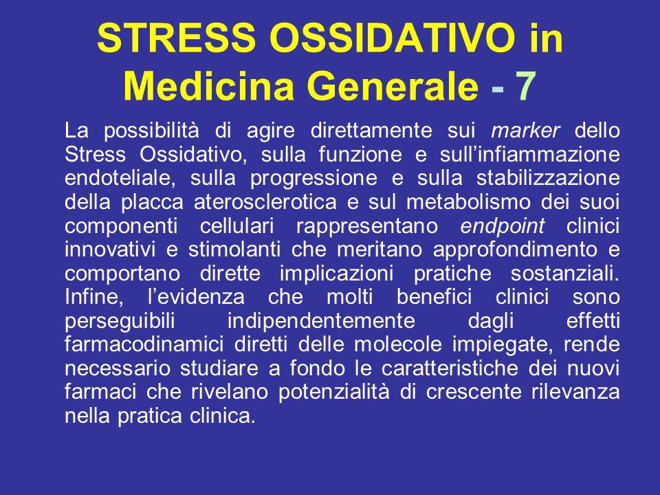 STRESS OSSIDATIVO in Medicina Generale - 7