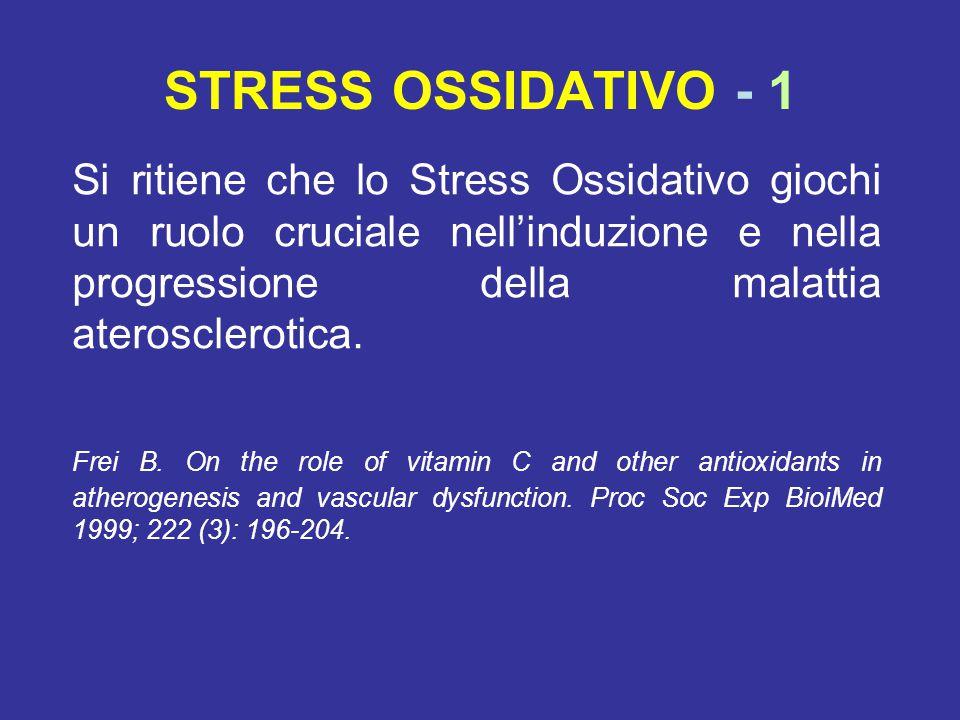 STRESS OSSIDATIVO - 1