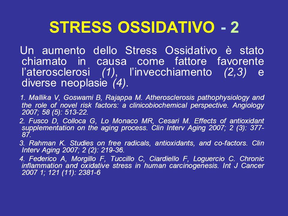STRESS OSSIDATIVO - 2