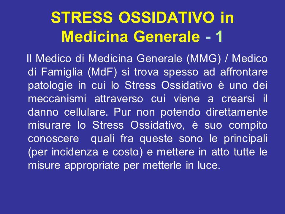 STRESS OSSIDATIVO in Medicina Generale - 1