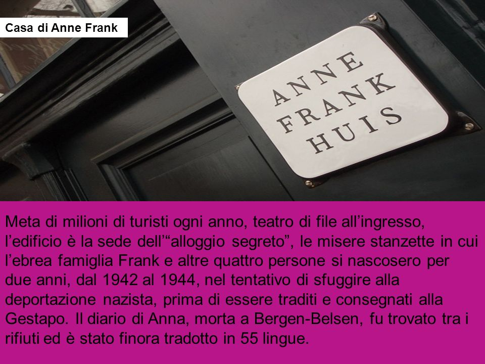Casa di Anne Frank