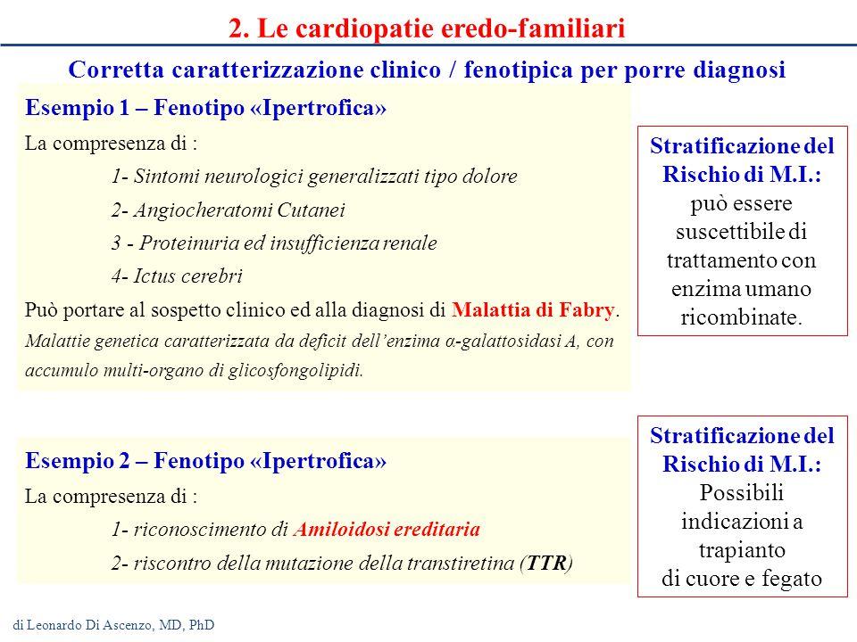 2. Le cardiopatie eredo-familiari