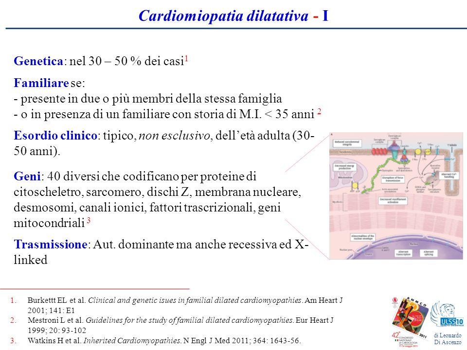 Cardiomiopatia dilatativa - I