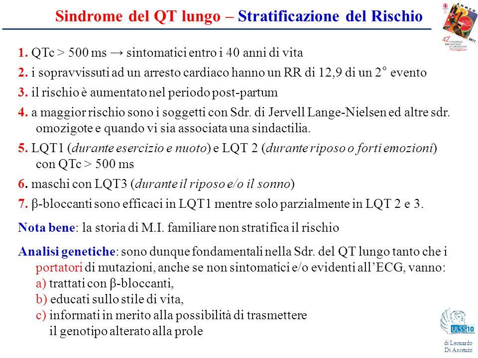 Sindrome del QT lungo – Stratificazione del Rischio