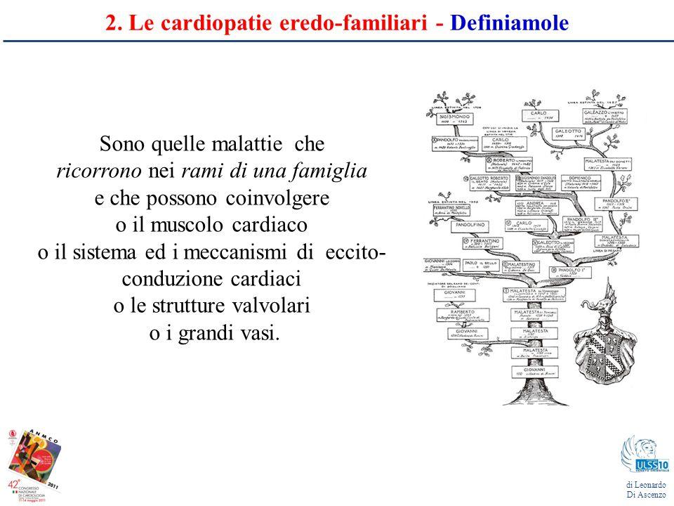 2. Le cardiopatie eredo-familiari - Definiamole